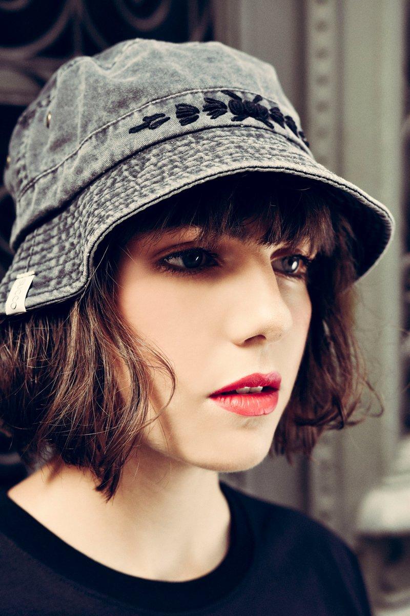 Succo Black Bucket Hat