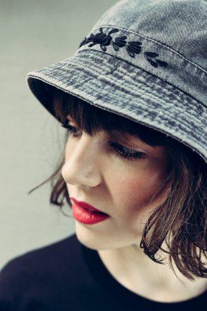 Succo Black Denim Hat